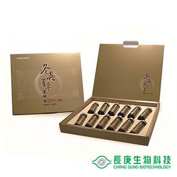 ★結帳現折★長庚生技 冬蟲夏草菌絲體純液禮盒x1(盒)