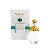 《Guerlain 嬌蘭》花草水語沁藍綠茶淡香水7.5ml 精巧版單盒 $420