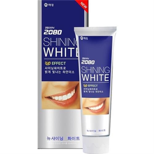 韓國2080 三重美白牙膏100g