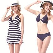 《【SARBIS】》MIT大女比基尼四件式泳裝附泳帽B94305(M)