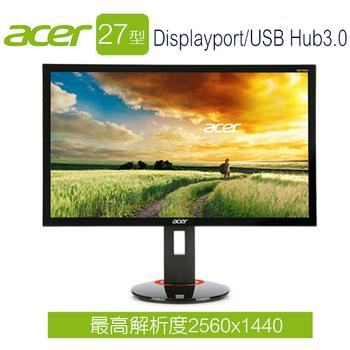 Acer宏碁 XB270HU A 27型 玩家首選電競液晶螢幕