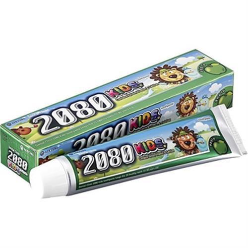 韓國2080 強齒健齦兒童牙膏.蘋果(80g)