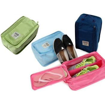 JTourist 多功能防潑水收納鞋袋(深藍)