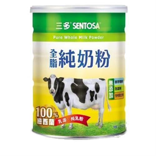 三多 全脂純奶粉(1350g/罐)
