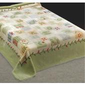 《Victoria》幸運草單人毛毯(150x200cm)