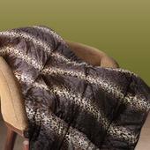 《Victoria》超柔雙人毛毯-時尚豹紋(180X210cm)