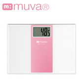 《muva》muva繽紛樂電子體重計(櫻花粉)