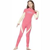 《SAIN SOU》女童連身水母衣泳裝(12-)