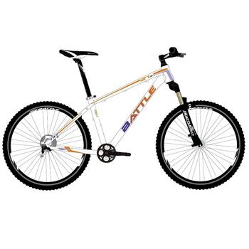 《BATTLE》TXT7150-D  ALTUS 27速 27.5吋X16 SHIMANO油碟輕量化鋁合金登山車(白橘藍)
