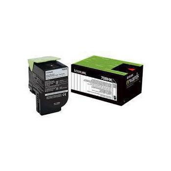 Lexmark Lexmark 708HK 黑色高容量碳粉匣 / 70C8HK,CS310,CS410