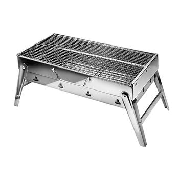 《采邑家居》不鏽鋼收納手提烤肉爐