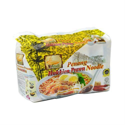 MyKuali 檳城福建蝦味湯麵(105G*4包/組)