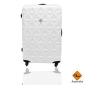 《Gate9》花花系列28吋行李箱/旅行箱(白色)