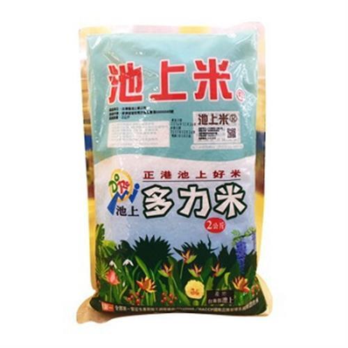 池上 多力米(2kg/包 CNS一等米)