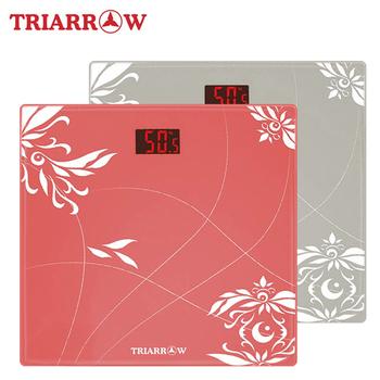 三箭牌 纖體LCD背光 電子體重計 (EB-8080)(紅)