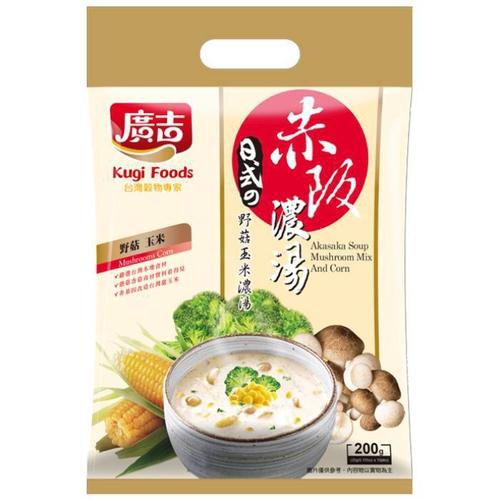 《廣吉》赤阪濃湯-野菇玉米濃湯(20g*10包)