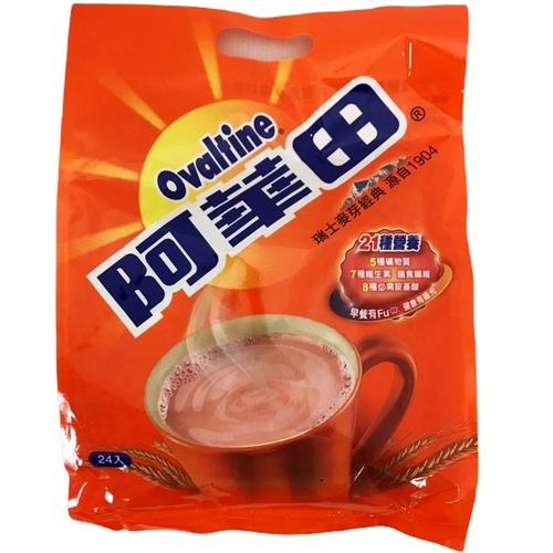 阿華田 營養麥芽飲品巧克力口味(20gx24入袋裝)