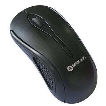 NAKAY 『純黑』3D光學USB滑鼠(M-02)