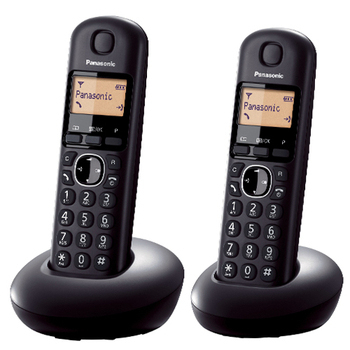 《PANASONIC 國際牌》DECT數位無線電話 KX-TGB212TW(黑色)