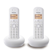 《PANASONIC 國際牌》DECT數位無線電話 KX-TGB212TW(白色)