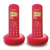 《PANASONIC 國際牌》DECT數位無線電話 KX-TGB212TW(紅色)