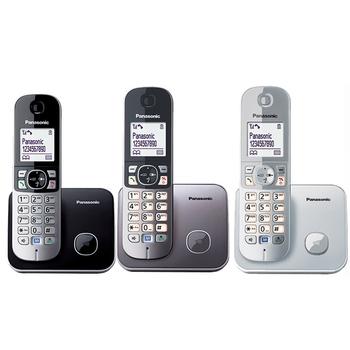 Panasonic 國際牌中文顯示數位話機KX-TG6811TW(銀色)