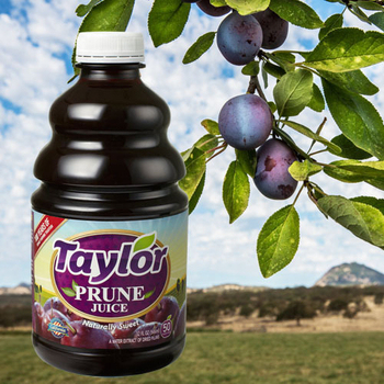 《Taylor》天然加州黑棗汁(946ml/瓶)(X3瓶)