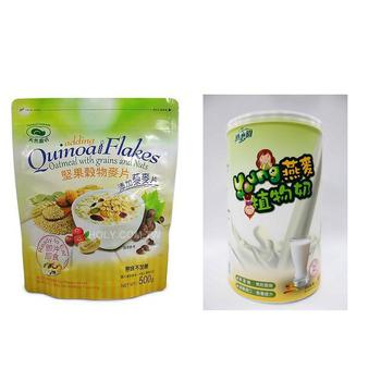 天然磨坊 漾燕麥植物奶*2/果穀物藜麥片(健康套組)
