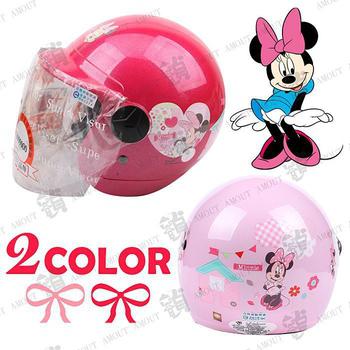EVO 迪士尼米妮【兒童安全帽】半罩式(粉紅M)