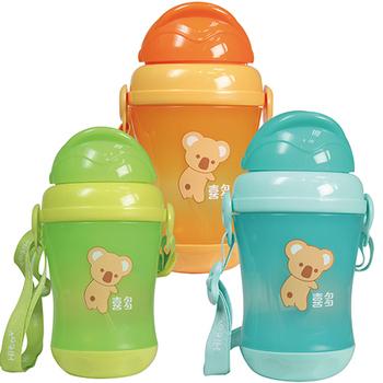 喜多 幼童水壺(便攜型)310ml(藍)
