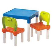 《SONA PLUS》活力兒童桌椅組(1桌2椅)