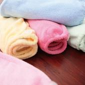 《MORINO》C&F瞬間吸水快乾浴帽(粉藍)