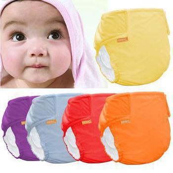 COTEX可透舒 DB500基礎款-防水尿布兜 (六件優惠組)(女寶寶色系:紅紫橙)
