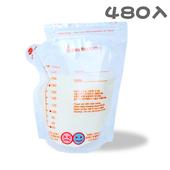 《傳佳知寶》【傳佳知寶】茶壺型直立式辨溫母乳冷凍袋 (240ml--480入環保包)