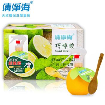 清淨海 巧檸酸食品級檸檬酸700g(送木匙+噴瓶)