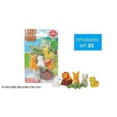 《iwako》日本製 環保無毒橡皮擦 卡版造型(野生動物)