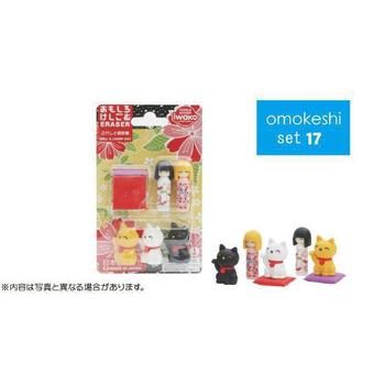 iwako 日本製 環保無毒橡皮擦 卡版造型(招財貓)