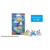 《iwako》日本製 環保無毒橡皮擦 卡版造型(海洋動物)