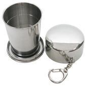 攜帶式不鏽鋼杯環保杯伸縮杯250cc (2377)