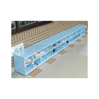 承鑫塑鋼傢俱 坐式矮鞋櫃(照片色)