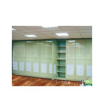 承鑫塑鋼傢俱 上平板雙開門下透氣窗雙開門棉被櫃(照片色)