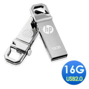 HP 16GB 勾勾金屬精品隨身碟(v250w)