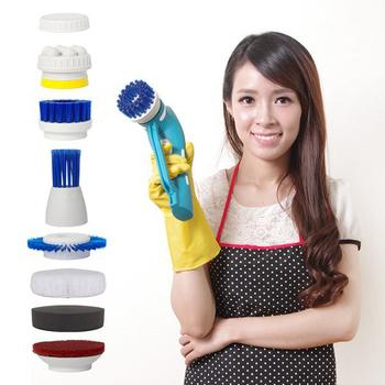 YOTO 悠樂 攜帶式一機多用防水清潔機 打蠟機 去角質按摩機(ZY1392)