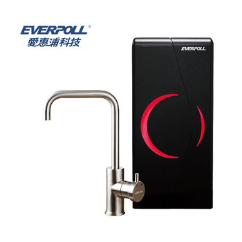 EVERPOLL 愛惠浦科技 廚下型雙溫無壓飲水機 EP-168 (黑色)
