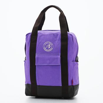PORTMAN 繽紛色彩三用帆布包PM143604(紫色)