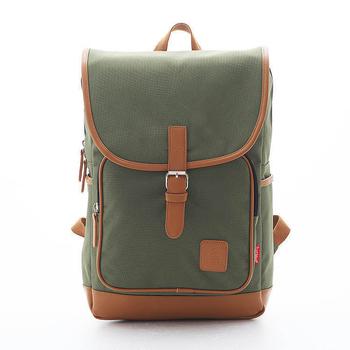 PORTMAN 學院風單釦後背包 PM142132(綠色)