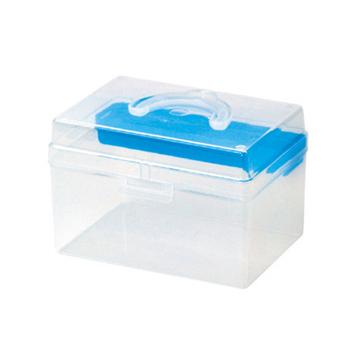 ★結帳現折★SONA PLUS TB-702 童顏學生手提收納箱 三色可選(粉藍)