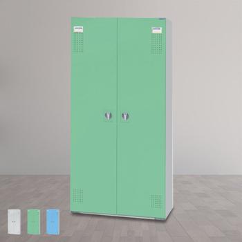 時尚屋 HDF多用途一抽置物櫃(三色可選)(綠色)