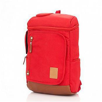 PORTMAN 牛津布韓風電腦背包PM133177(紅色)