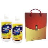 《草本之家》晶氏能葉黃素液1000mlX2瓶禮盒裝